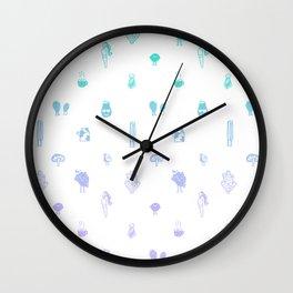 Picnic Pattern Wall Clock