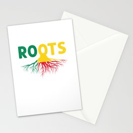 West Africa Patriotism Porto Novo French Benin Patriotic Country Gift Beninese Roots Stationery Cards