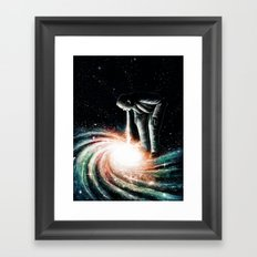 Cosmic Vomit Framed Art Print