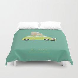 Mr. Bean  | Famous Cars Duvet Cover