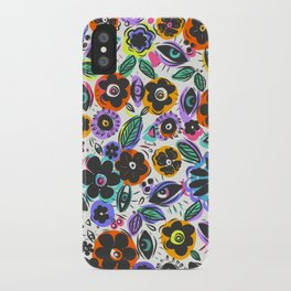 1980 Flowers iPhone Case