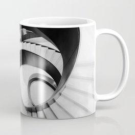 Metal Spiral Swirling Staircase London Coffee Mug