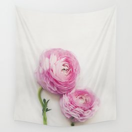 Pink Peonies 2 Wall Tapestry