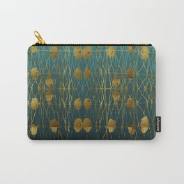 Kelp Forest Blue Carry-All Pouch