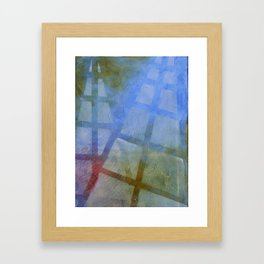 EMBRACED BY THE LIGHT ~ Two Heavens Framed Art Print