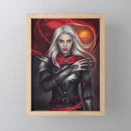 The Witch Framed Mini Art Print