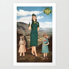 Girl Scouts of America Art Print
