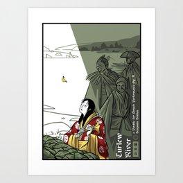 Curlew River Art Print