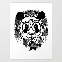 Day of The Panda Art Print