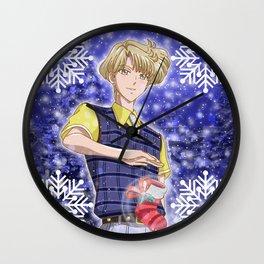 Merry Xmas Haruka! Wall Clock