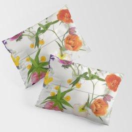 Spring Flowers - JUSTART (c) Pillow Sham