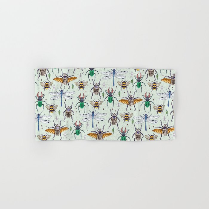 lucky insects Hand & Bath Towel