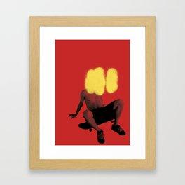 skate or spray Framed Art Print