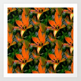 Loving Tulips... Art Print