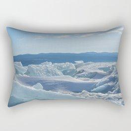 Pressure Ridges of Ice Lake Rectangular Pillow