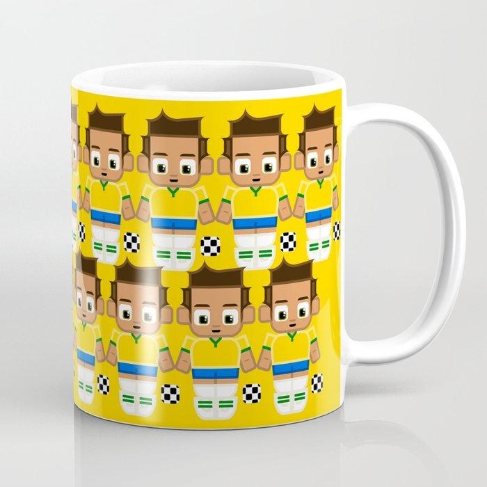 Football Soccer Brazil Coffee Mug