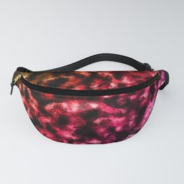 Rainbow Gradient Diagonal Foil Pattern Fanny Pack