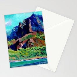 Na Pali Coast 3 Stationery Cards