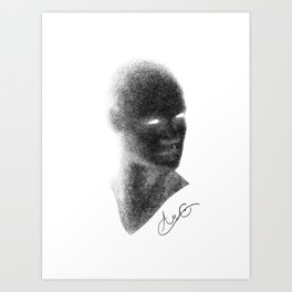 Self Portrait: Aramand Corinth Art Print