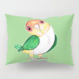 White bellied caique Pillow Sham