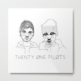 Josh/Tyler Metal Print