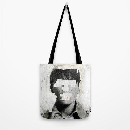 Faceless   number 02 Tote Bag