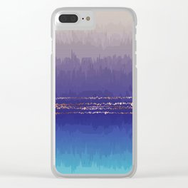 Cold Stone Clear iPhone Case