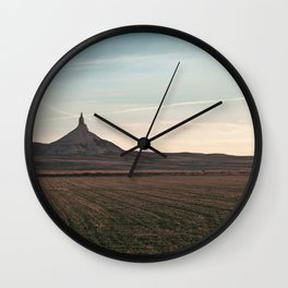 Chimney Rock Wall Clock