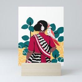 Rural Woman Mini Art Print