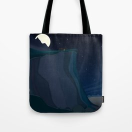 fairy landscape (at night) Tote Bag