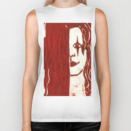 Brandon Lee Red Biker Tank