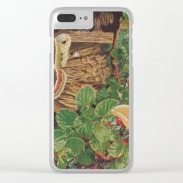 Wood Nymph Clear iPhone Case