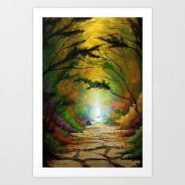 Pathway to Destiny Art Print