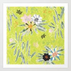 Neo Rainforest-Daybreak Art Print