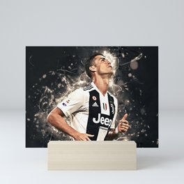 CR7 To Juve Mini Art Print