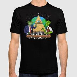Alien Illuminati Conspiracy T-shirt
