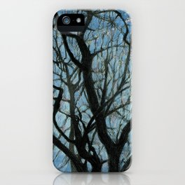BETWEEN BRANCHES iPhone Case