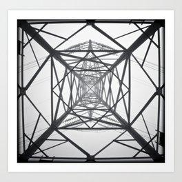 Electricity Art Print