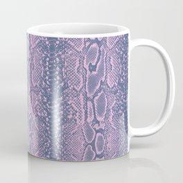 Pink Snake Skin Coffee Mug