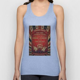 CIRQUE PRICE ROUGE Unisex Tank Top