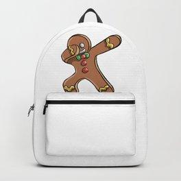 Dabbing Gingerbread Man Backpack