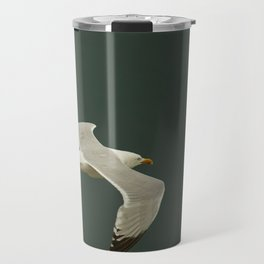 Gliding over the ocean Travel Mug