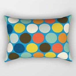 charlie spot blue Rectangular Pillow