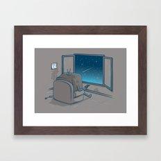 The best show Framed Art Print