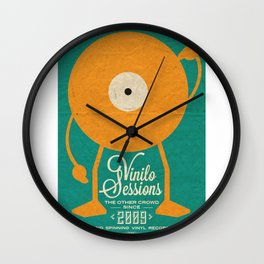 VINILO SESSIONS Wall Clock