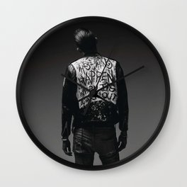 When It's Dark Out Wall Clock