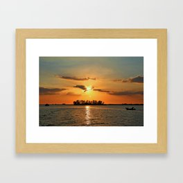 The Secrets She Keeps Framed Art Print
