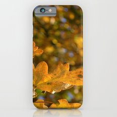 Yellow Oak Leaves iPhone 6s Slim Case
