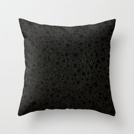 My Cubes Feel Funny Throw Pillow