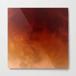 Blood Moon | Metal Print